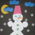 Мастер-класс «Снеговик в технике оригами»