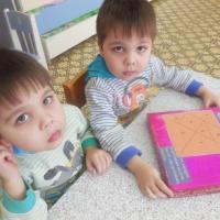 Математический планшет «Геометрик». Дидактические развивающие игры своими руками для старшей группы