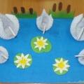 Мастер-класс по модульному оригами «Лебединое озеро»