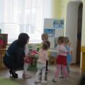 Конспект непрерывной образовательной деятельности для детей первой младшей группы в гости к нам пришёл зайчишка