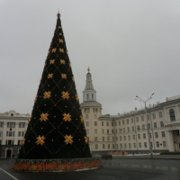 Фотозарисовки «Новогодний город»