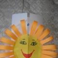 Мастер-класс по изготовлению объемной открытки «Солнышко лучистое»