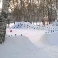 «Зимняя сказка». Оформление участка в детском саду зимой