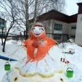 Снежные постройки «Есть у нас Снеговик…»
