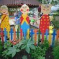 «Бабушкин двор»— оформление участка детского сада