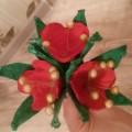 Мастер-класс по изготовлению цветов из яичных лотков
