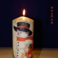 Мастер-класс «Украшение свечи»