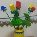 Игра с блоками Дьенеша «Собери букет»