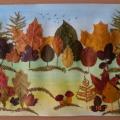 Мастер-класс «Осенний пейзаж» (из осенних листьев)