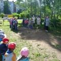 Спортивные соревнования «Веселые старты» между детскими садами. Фотоотчет.