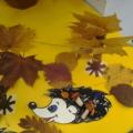«Осенняя полянка для ежат» коллективная работа