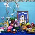 Фотоотчет о совместной выставке работ родителей и детей «Пасха в гости к нам пришла»