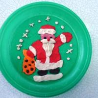Детский мастер-класс по пластилинографии «Дед Мороз» в подготовительной к школе группе