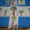 Конспект занятия по рисованию в старшей группе «Яблоня»