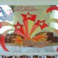 Оформление музыкального зала в детском саду к празднику 9 Мая