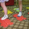 Занятие в сенсорной комнате для детей 3–4 лет