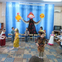 Развлечение «Широкая Масленица» с Медведем
