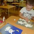 Зимняя сказка (фотоотчёт о том, как дети средней группы создали «зимнюю сказку»)