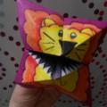 Мастер-класс по оригами «Лев-зубастик»