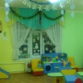 Оформление группы раннего возраста к новому году «Маша и Миша в гостях у малышей»