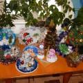 Фотоотчет выставки «Новогодняя тарелочка»