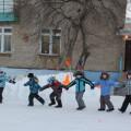 Сценарий спортивного развлечения на улице для старших и подготовительных групп «Зимушка-зима»