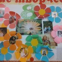 Стенгазета к международному женскому Дню 8 Марта «Наши мамочки-цветочки» в средней группе