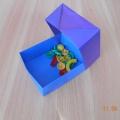 Мастер-класс «Коробочка для мелочей без клея в технике оригами»