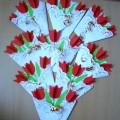 Аппликация «Тюльпаны для мамы». Мастер-класс