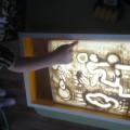 Рисование песком (фотоотчет)