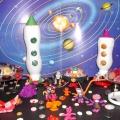 Мастер-класс с использованием бросового материала «Межпланетный космодром»