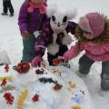 Конкурс ледовых и снежных скульптур «Торт для птиц»