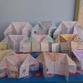 Фотоотчет «Конструирование в технике оригами «Мой дом» в подготовительной группе»
