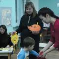 Совместная деятельность детей и родителей средней группы в КВН-игре «Играя, речь развиваем»