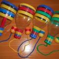 Мастер-класс по изготовлению игры «Бильбоке» для детей дошкольного возраста