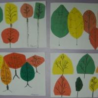 Конспект НОД по аппликации в подготовительной группе «Осенний лес»