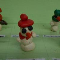 Конспект НОД по лепке «Снеговик» в подготовительной группе