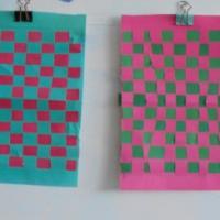 Конспект НОД «Коврик-дорожка» из полосок цветной бумаги. Ручной труд с детьми подготовительной группы