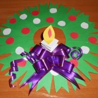 Мастер-класс «Рождественский веночек»