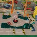 Фотоотчет о выставке «Поделки по правилам дорожного движения»