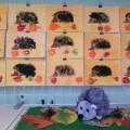 Конспект занятия по рисованию методом тычка в старшей группе «Ежик на осенней полянке»