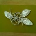 Мастер-класс: поделка из фольги «Цветок»