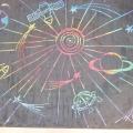 Мастер-класс «Космос» (цветной граттаж)