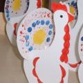 Интегрированное занятие по художественно-эстетическому развитию «Роспись дымковской игрушки (хвост индюка)»