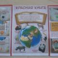 Конспект интегрированного занятия в старшей группе с использованием лэпбука «Путешествие по страницам Красной Книги»