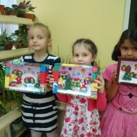«Подарки из Ситцевой страны». Коллективные работы детей подготовительной группы