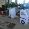 Макет машины скорой помощи и пожарной машины своими руками для сюжетно-ролевых игр в детском саду