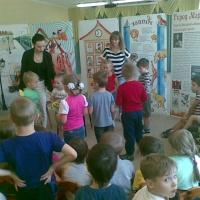 Фотоотчет «Литературный музей, выставка-игра «Город С. Я. Маршака»