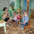 Фотоотчет НОД по речевому развитию в первой младшей группе «Домашние животные и их детёныши»