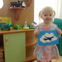 Мастер-класс «Поздравительная открытка для любимого папочки» от самых маленьких непосед с 1,6–2 лет